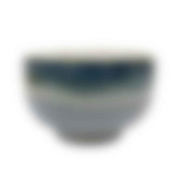 HKliving Ceramic 70´s Bowl Ocean