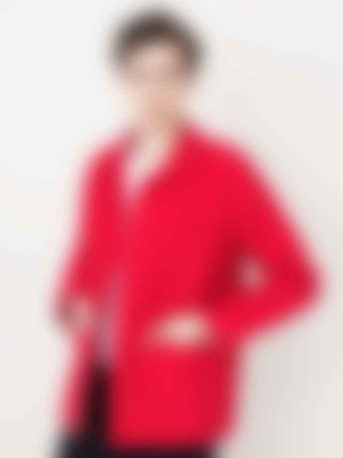 Le Mont St Michel Men's Work Jacket Red