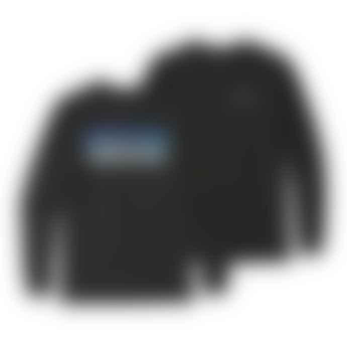 Patagonia P 6 Logo Responsibili L S Black T-Shirt