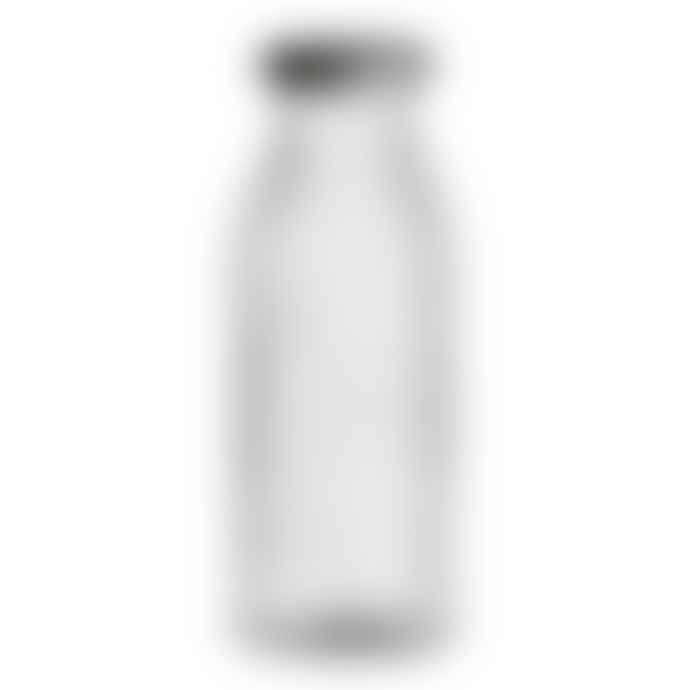 Bloomingville Clear Glass Bottle with Lid Set of 2