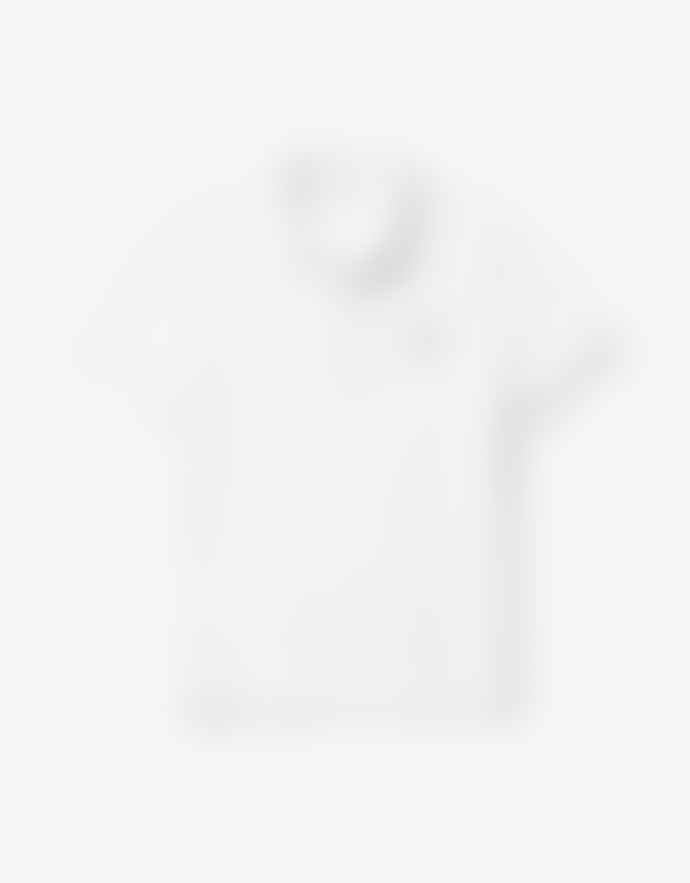 Lacoste White Cotton Slim Fit Polo Shirt