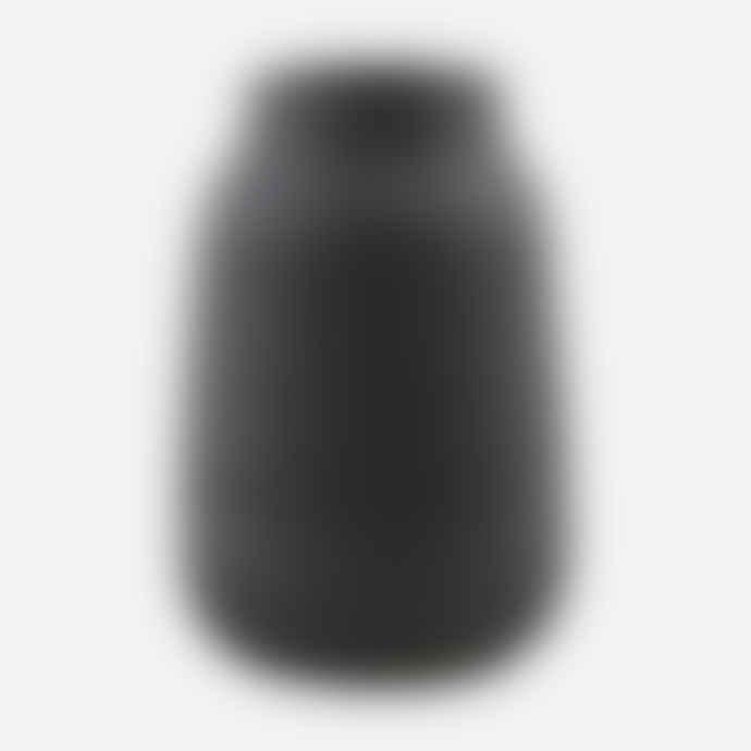 House Doctor Vase Groove Black