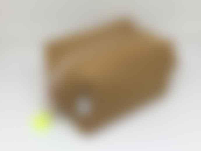 Atelier 107 Toilet bag small cube beige