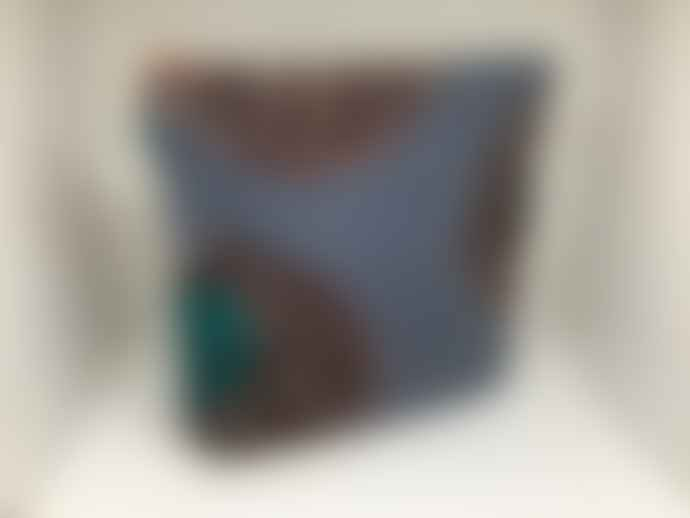 Atelier 107 Toilet bag big blue wax