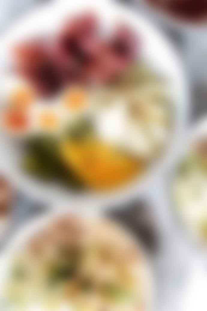 Falcon Enamelware Medium Salad Bowl Pigeon Grey