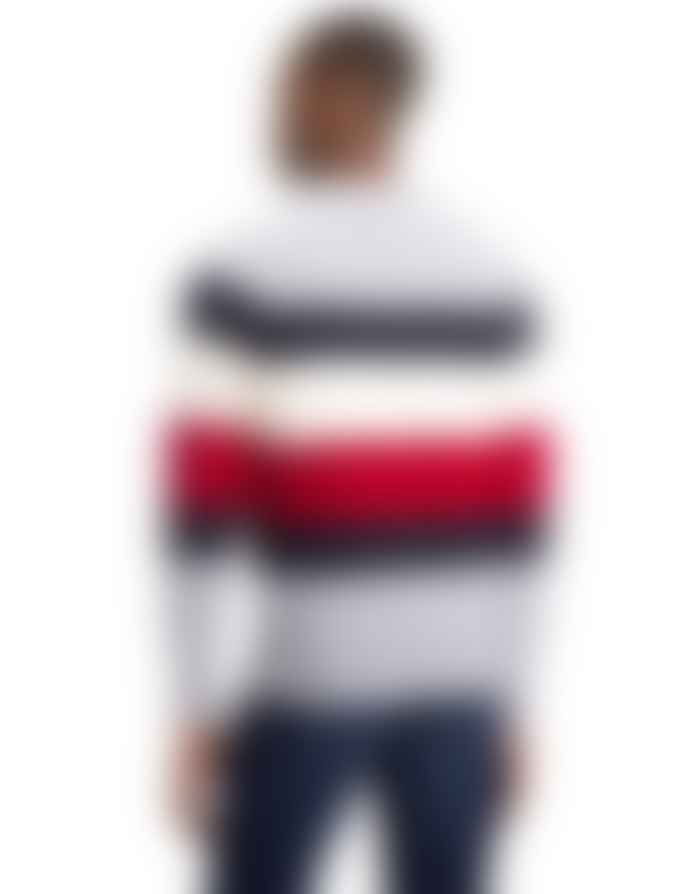 Tommy Hilfiger Cotton and Nylon Multicolor Striped Jersey