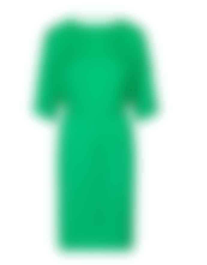 Storm & Marie Kelly Green Recycled Polyester Long Egan Dress