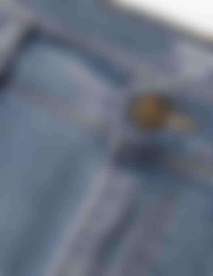 Carhartt Blue Shore Bleached Cotton Rebel Cowboy Jeans