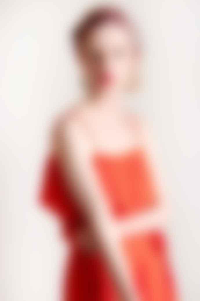 ICHI Ihmarrakech Maxi Dress Red