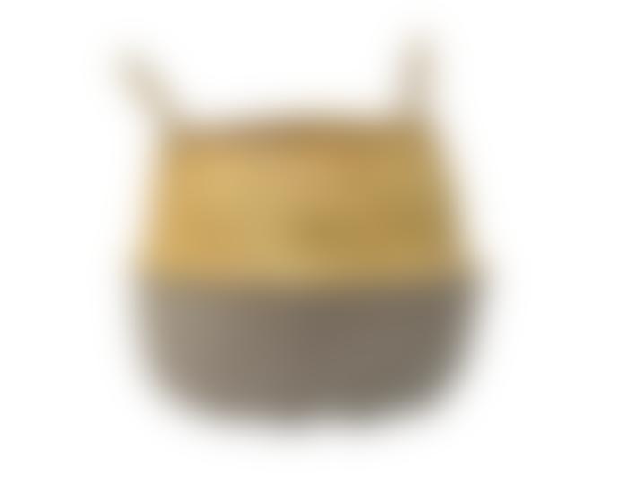 Bloomingville Seagrass Basket in Grey