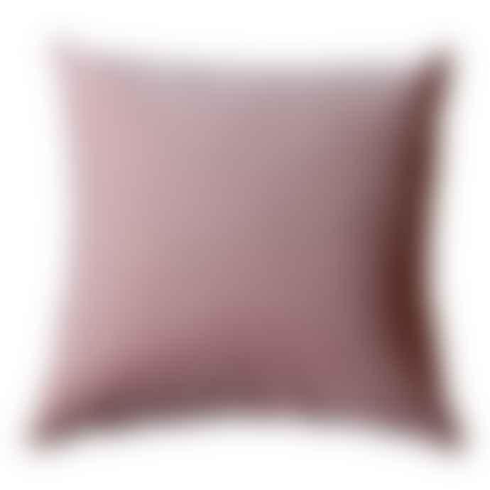 The Hackney Draper Pink Velvet Cushion