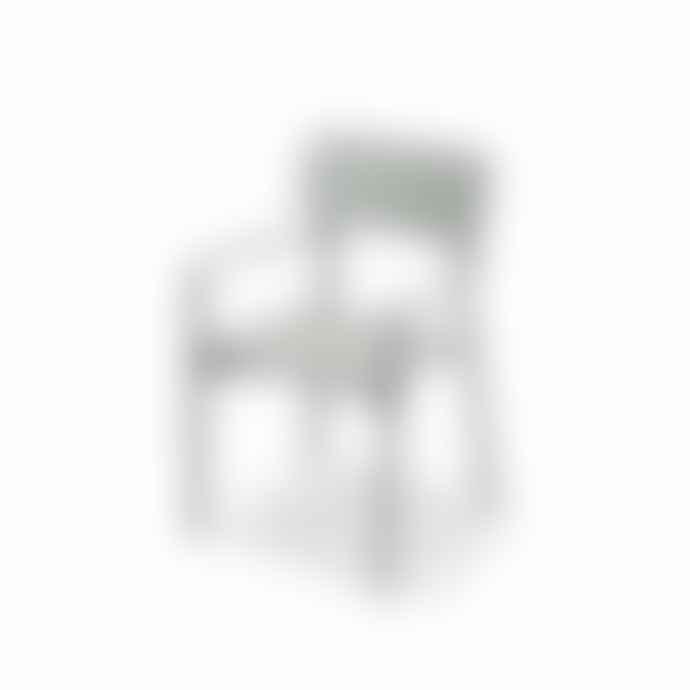 Skagerak Light Grey Oak Wood Hven Armchair