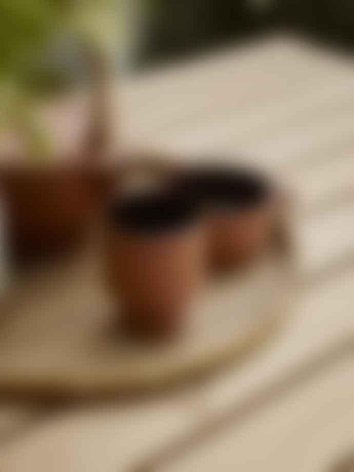 Skagerak Terracotta Edge Mug