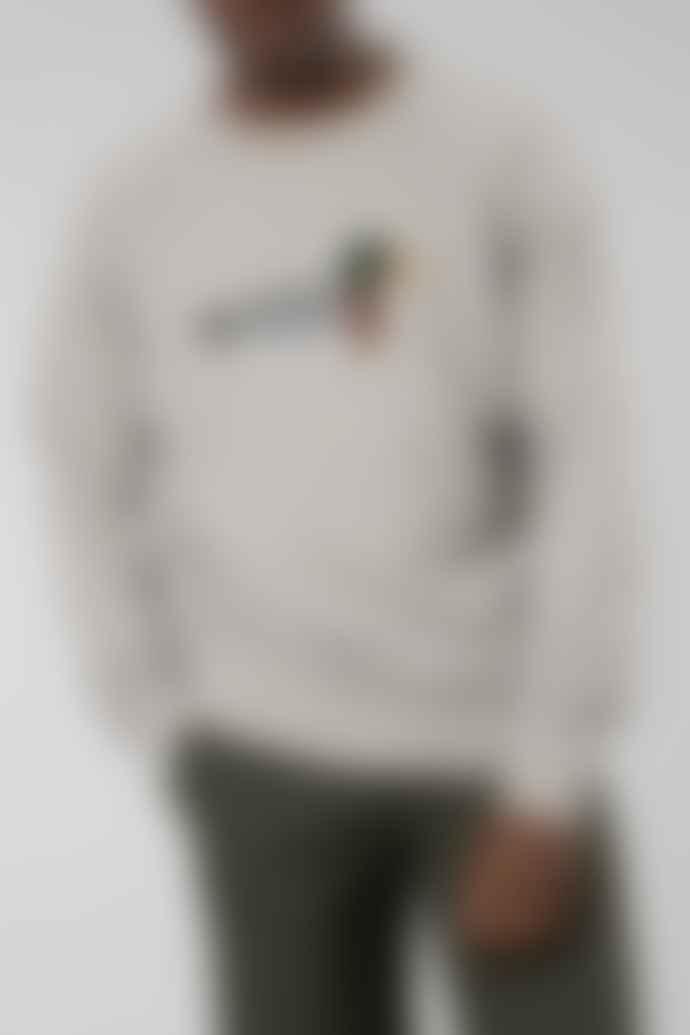 Edmmond Grey Duck Hunt Sweater