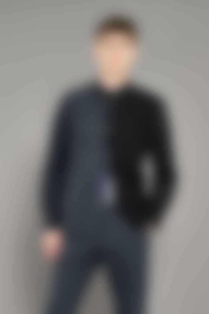 JJ Emlyn Adelaide Overshirt Navy Black