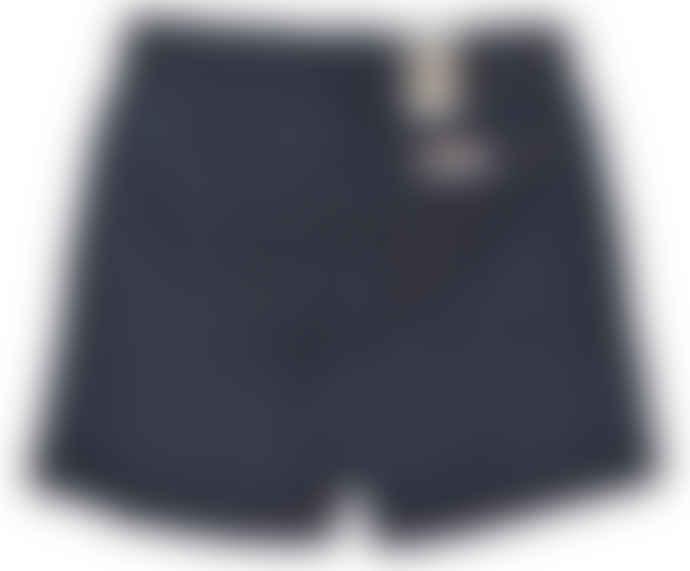 Nudie Jeans Navy Luke Twill Shorts