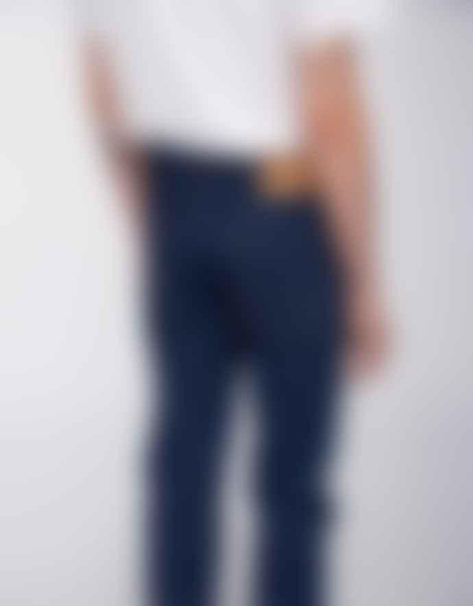 Edwin Power Blue Denim Cotton ED 80 CS Jeans