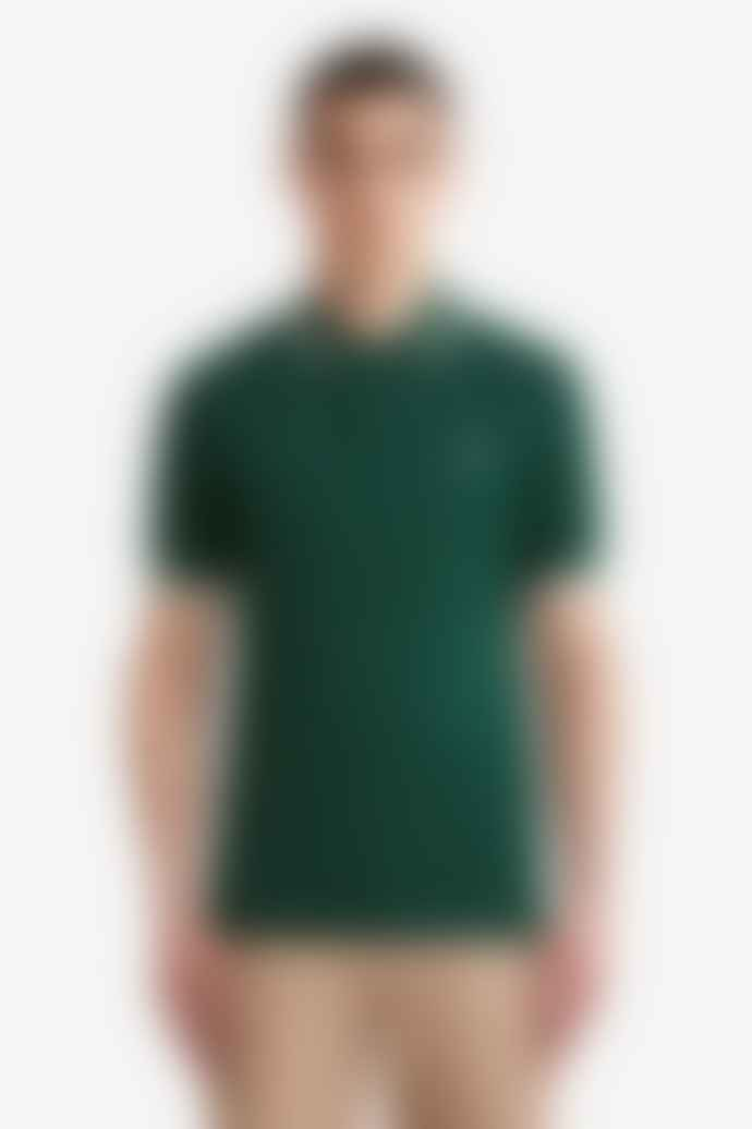 Fred Perry Ivy Cotton Twin Tipped Polo Shirt