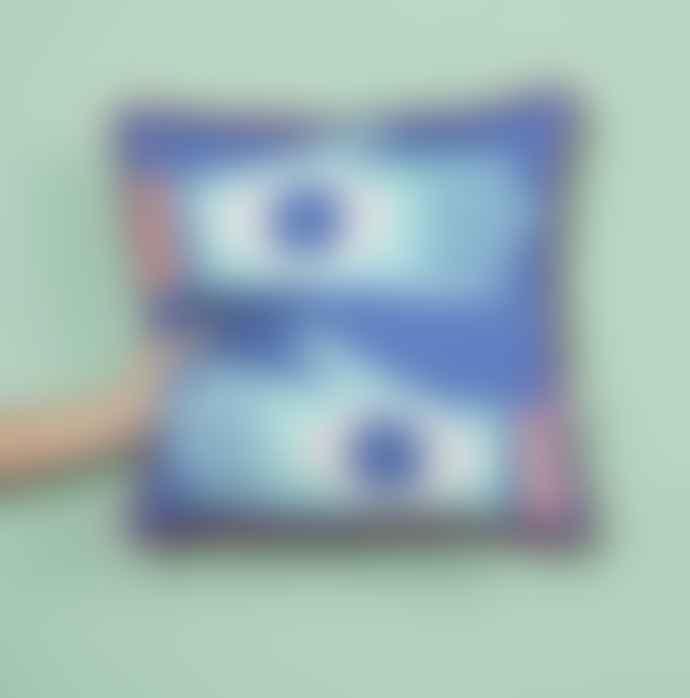 Pura Cal Memphis Style All Senses Hands Cushion Cover 45X45cm
