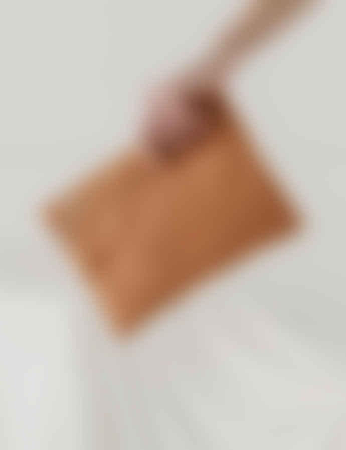 Baggu Pecan Canvas Cotton Zip Tote