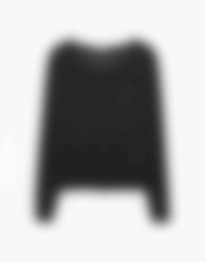 American Vintage Black Acrylic Spikboo Cardigan