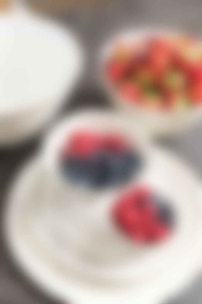 PTMD Aquarell Glazed Ceramic Dessert Plate
