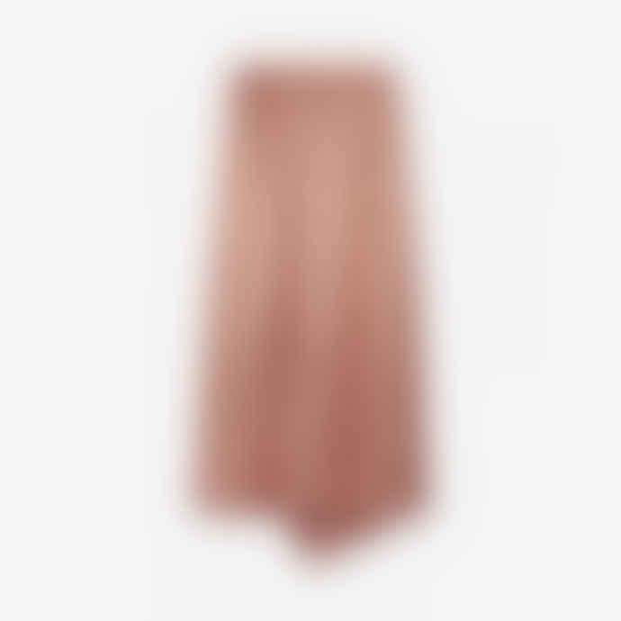 Alix The Label Old Pink Viscose Satin Skirt
