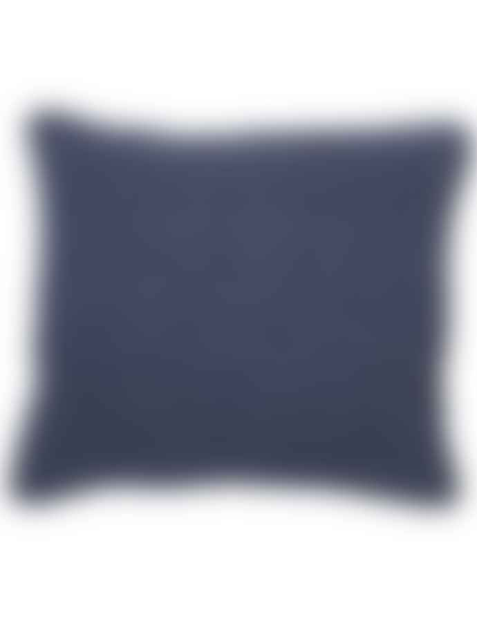 Linge Particulier Linen Cushion Cover - Rayure Borsalino 65x65