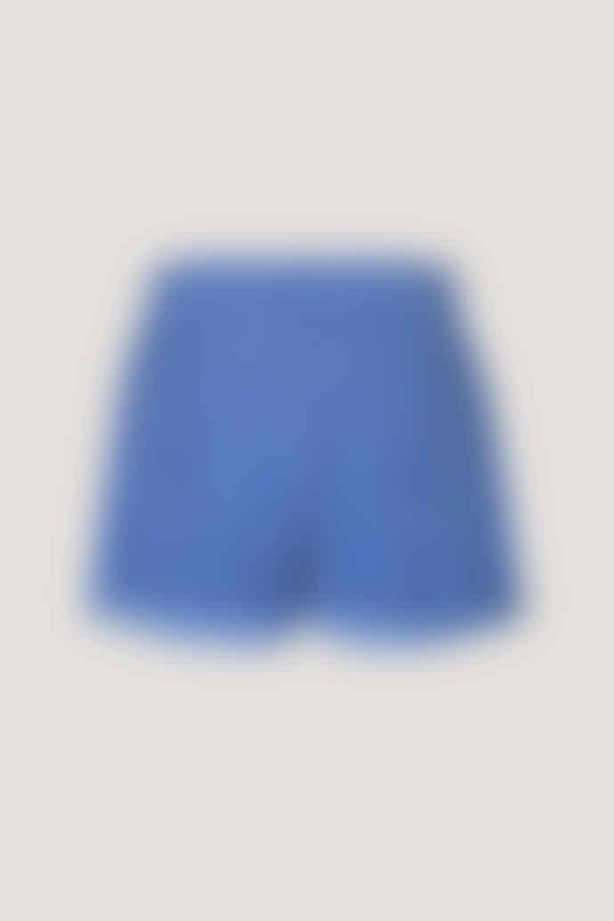 Samsoe & Samsoe Venya shorts - Blue bonnet