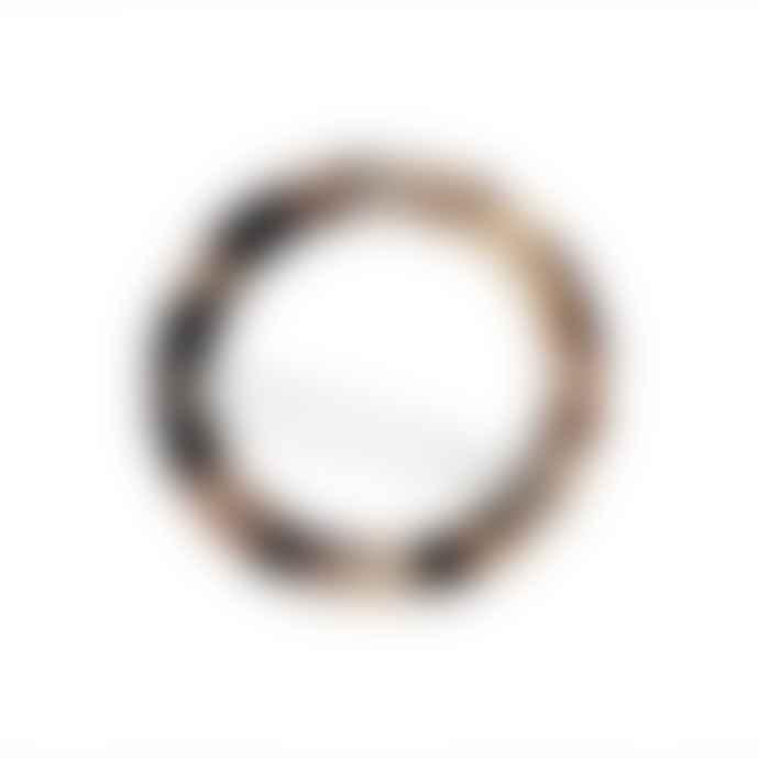 Machete Circle clip - Ash blonde tortoise