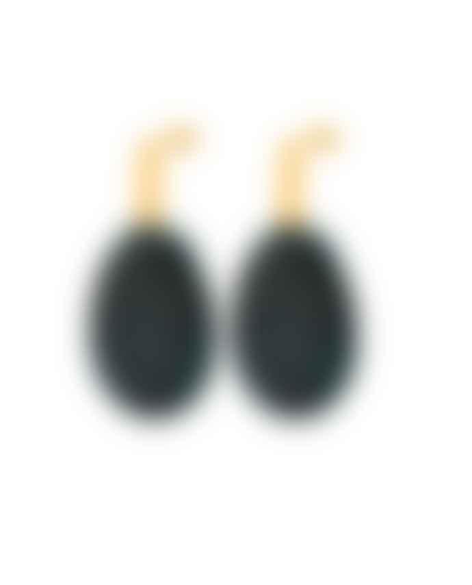 Louise Kragh Unik Oval Drop Earrings