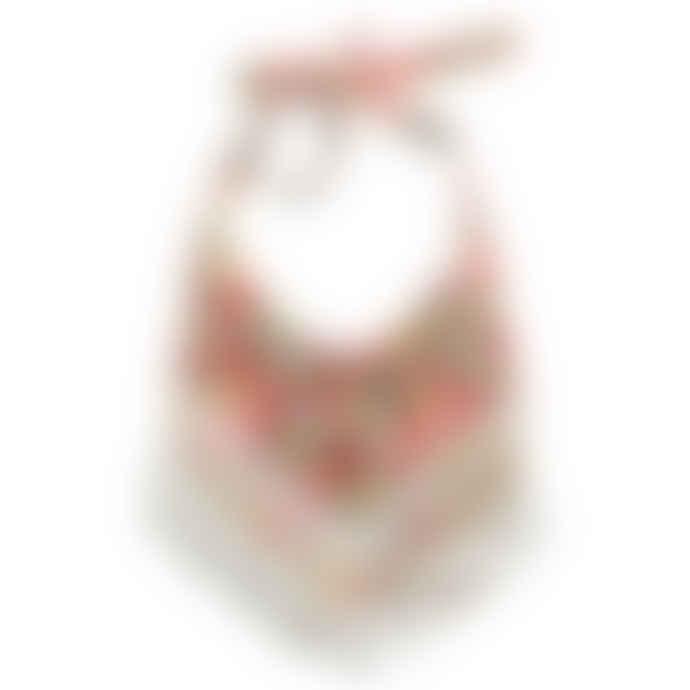 Handmade Floral Tassel Bib