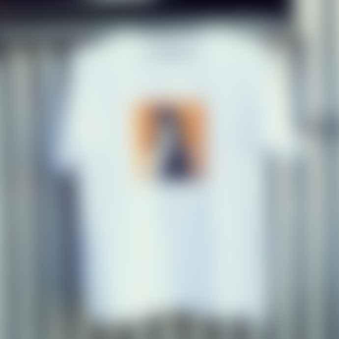 Msch Mo Alva Print White T Shirt