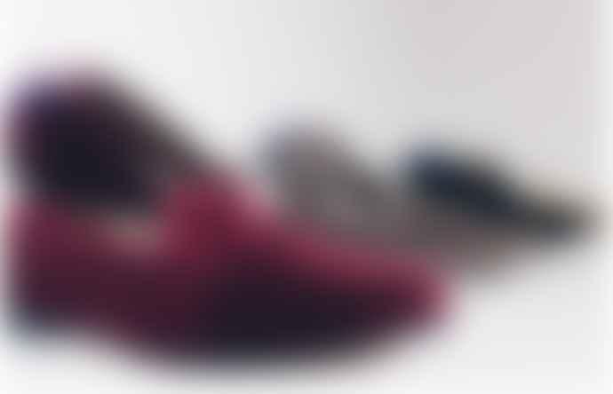 Calita Shoes Burgundy velvet shoes
