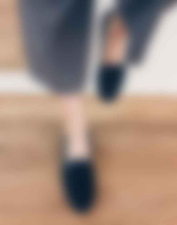 Calita Shoes Blue velvet shoes