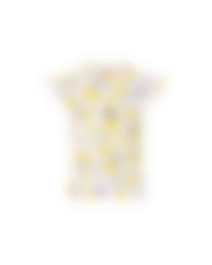 Sunuva Lemon Short Sleeve Flutter Rash Vest