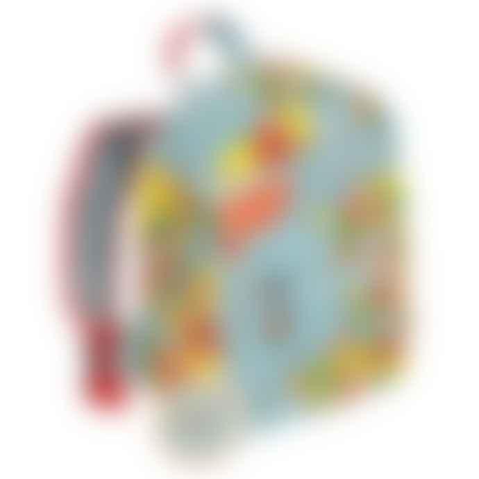 Rex London Children's backpack - World map