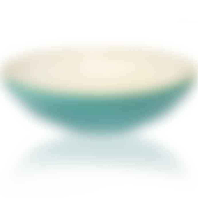 Turquoise Pasta Bowl