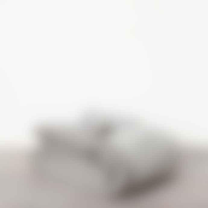 Also Home Izu Striped Throw 130 X 180  Soft Grey  White
