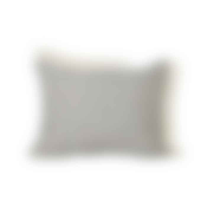 Ferm Living Ferm Living Way Cushion Off White Blue