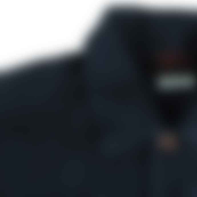 Vetra Navy Linen Jacket