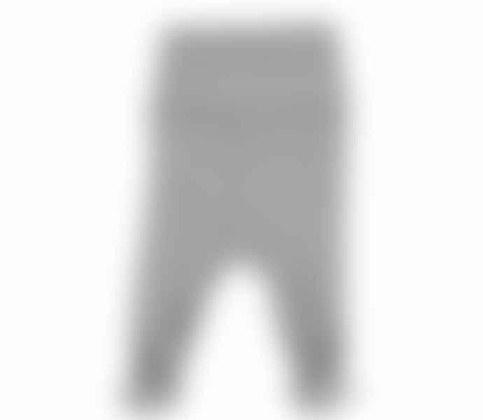 MarMar COMPENHAGEN Grey Cotton New Born Pixa Pants