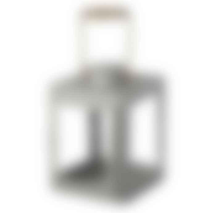 Nordal Warm Grey Lantern with Handle