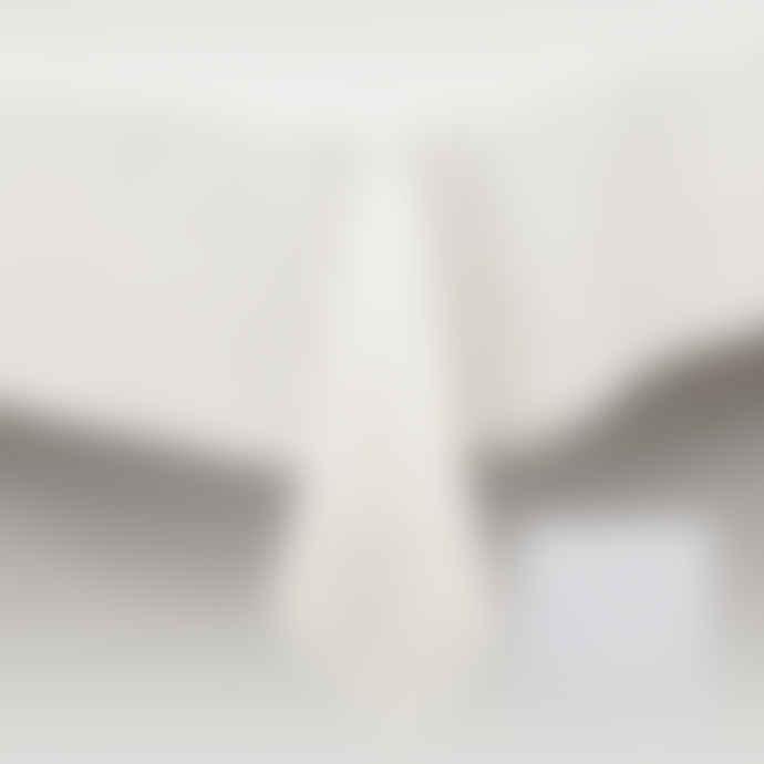 Simla Table cover linen stonewash white