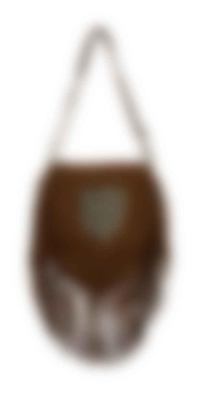 bon bon fistral Handmade Leather Hide Tassel Bag