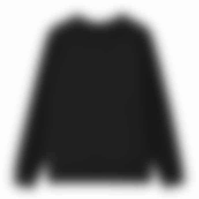 Levi's 10-16Y Black Cotton Batwing Logo Longsleeve Boys Sweatshirt