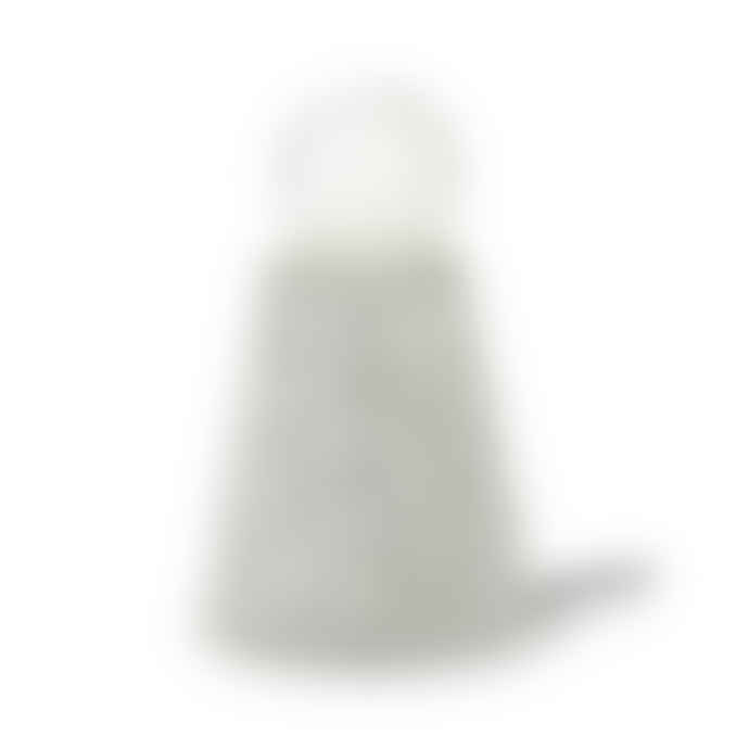 Serax White Speckled Cement Figure Table Lamp with Bulb