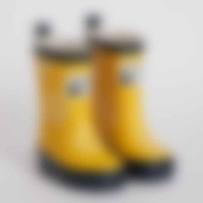 Grass & Air Yellow Colour Changing Wellies