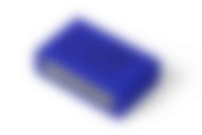 Lexon Blue Flip Alarm Clock