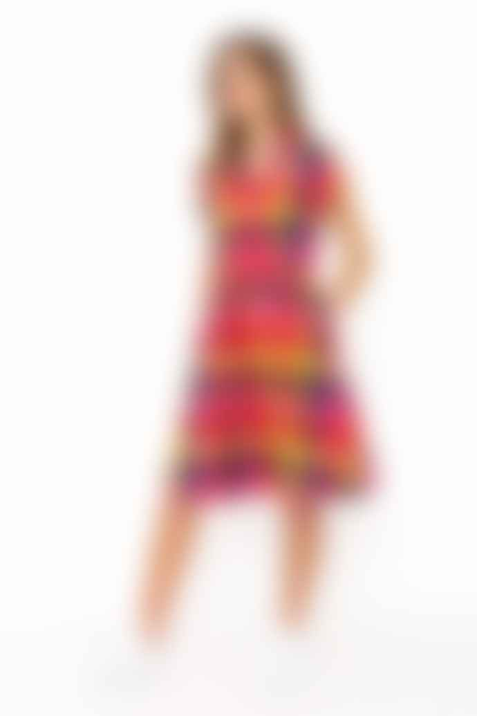 Emily and Fin Kate Sunset Plaid Dress